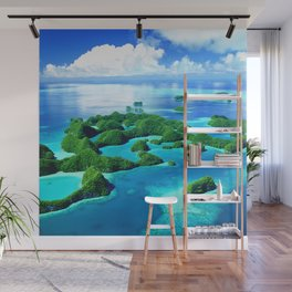 70 Wild Islands Palau Wall Mural