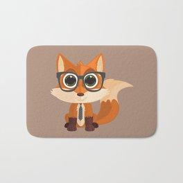 Fox Nerd Bath Mat