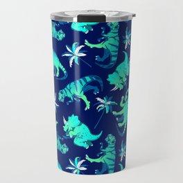 Dinosaur Pattern Travel Mug
