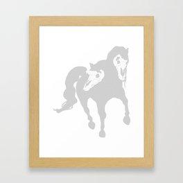 Horse(s) Framed Art Print