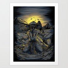 The Fallen Art Print