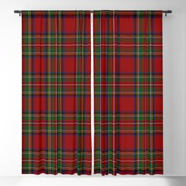 The Royal Stewart Tartan Blackout Curtain