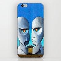 floyd iPhone & iPod Skins featuring Floyd canvas by Raqueldraw