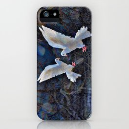 WHEN DOVES CRY iPhone Case