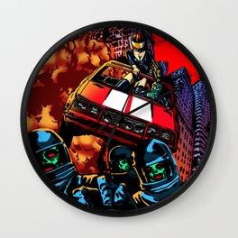 Devil Planet Wall Clock