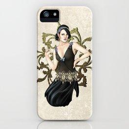 1920s Jazz Siren iPhone Case