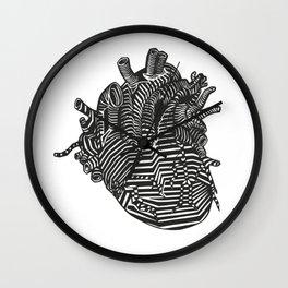 Digital Heart Wall Clock