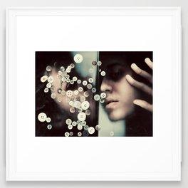 Les petis bouts de moi Framed Art Print