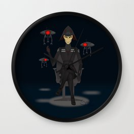 The Seventh Sister Wall Clock