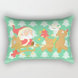 Santa 2014 Rectangular Pillow