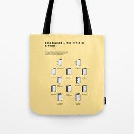 Bookbinding – The Types of Binding Tote Bag