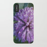 clover iPhone & iPod Cases featuring Clover by Bud M