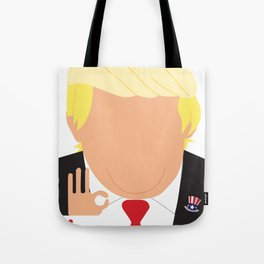 Faceless Trump Tote Bag