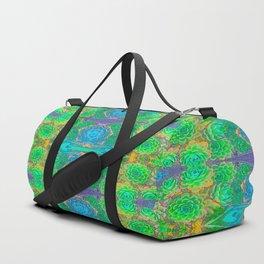 Art Nouveau Cactus Duffle Bag