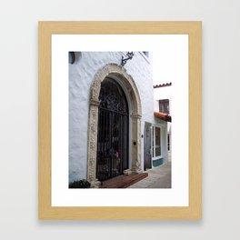 Old World Charm Framed Art Print