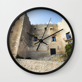 Spanish Building Wall Clock