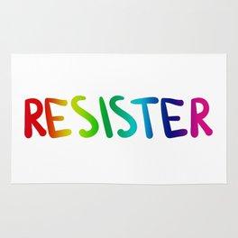 RE*SISTER (rainbow) Rug