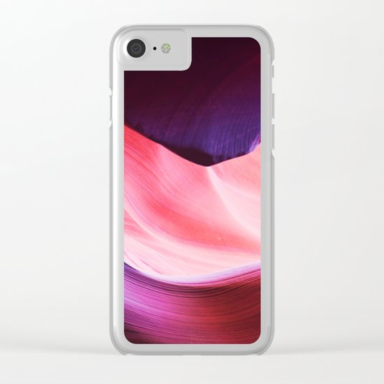 Lower Antelope Canyon Clear iPhone Case
