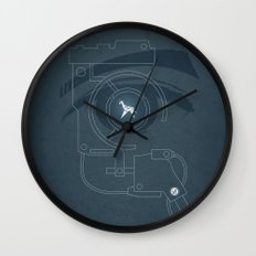 BLADE RUNNER (Voight Kampf Test Version) Wall Clock
