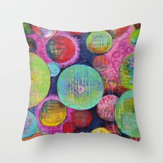 Other Worlds Throw Pillow