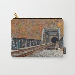 Autumn Graffiti Train Track Carry-All Pouch