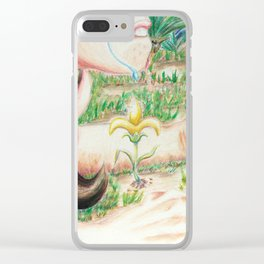 Legend of the Fleur de Lis Clear iPhone Case