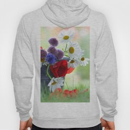 Flower potpourie from the cottage garden Hoody