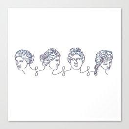 Aphrodite Chain Canvas Print