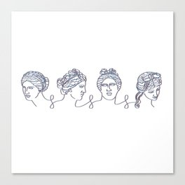 Aphrodite Chain Canvas Print