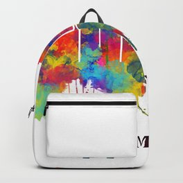 Stamford Connecticut Skyline Backpack