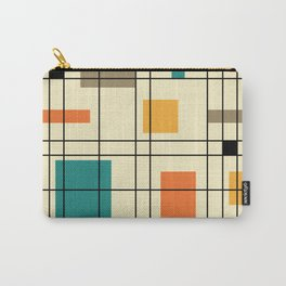 1950's Abstract Art Carry-All Pouch