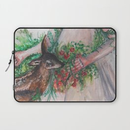 I'm healing with time Laptop Sleeve