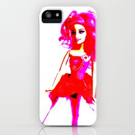 Bright Young Woman iPhone Case