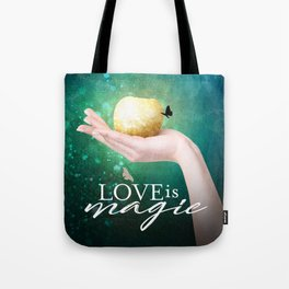 A Chalam in the Hand Tote Bag