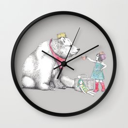 Teddy Bear's Picnic Wall Clock