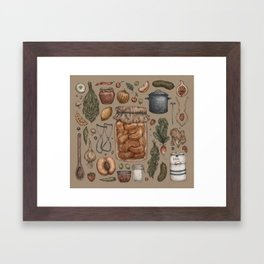 Preserve Framed Art Print