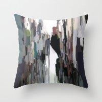 venice Throw Pillows featuring Venice by Robert Morris