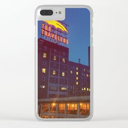 The Travelers Clear iPhone Case