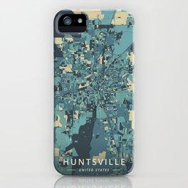 Huntsville, United States - Cream Blue iPhone Case