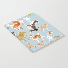 Japanese Dog Breeds Notebook
