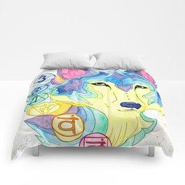 Chakra Wolf Comforters