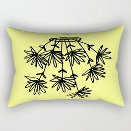 flower eater VI Rectangular Pillow
