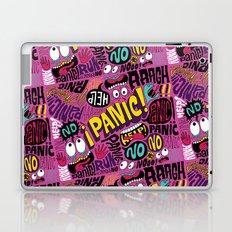 Panic Pattern Laptop & iPad Skin