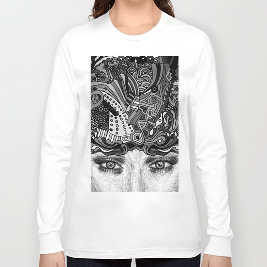 Courage Monotone Long Sleeve T-shirt