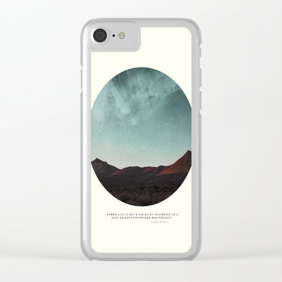 Universe remedy Clear iPhone Case