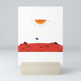 Mars Exploration Mini Art Print