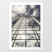 mirror Art Prints featuring Mirror by Mark Spence