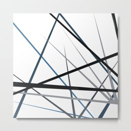 triangulation Metal Print