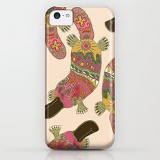 duck-billed platypus linen iPhone 5c Slim Case