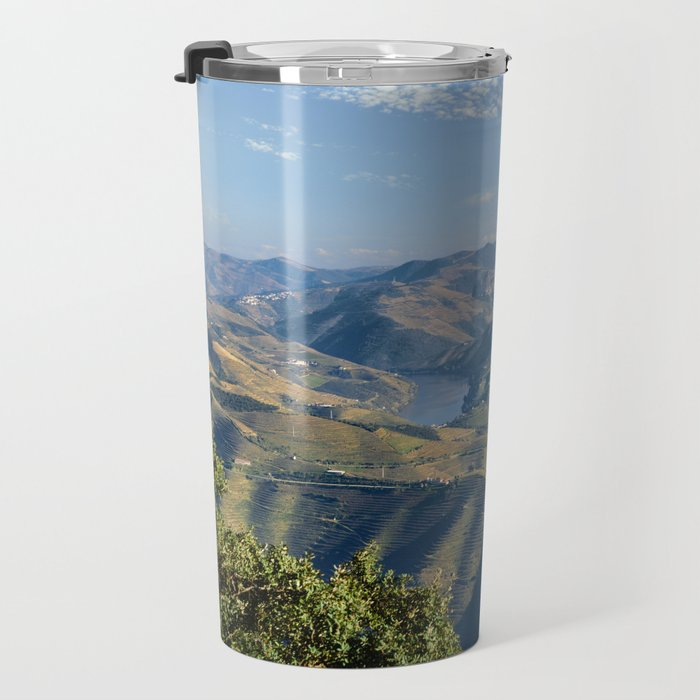 The Douro Valley, Portugal Travel Mug